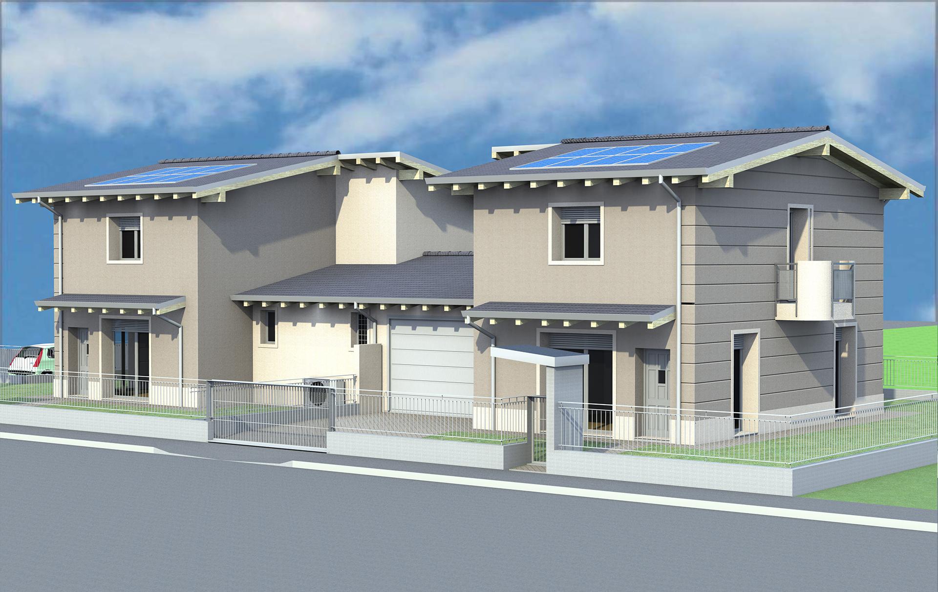 progetti case bifamiliari